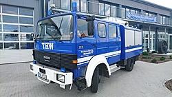 GKW 2 - 2018 im Alter von 33 Jahren abgegeben an den Ortsverband Hauenstein als Ersatzfahrzeug (Kennzeichen: THW