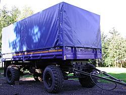 Anhänger B1 (2003 ausgesondert, läuft jetzt in Hessen , Kennzeichen THW-87114)